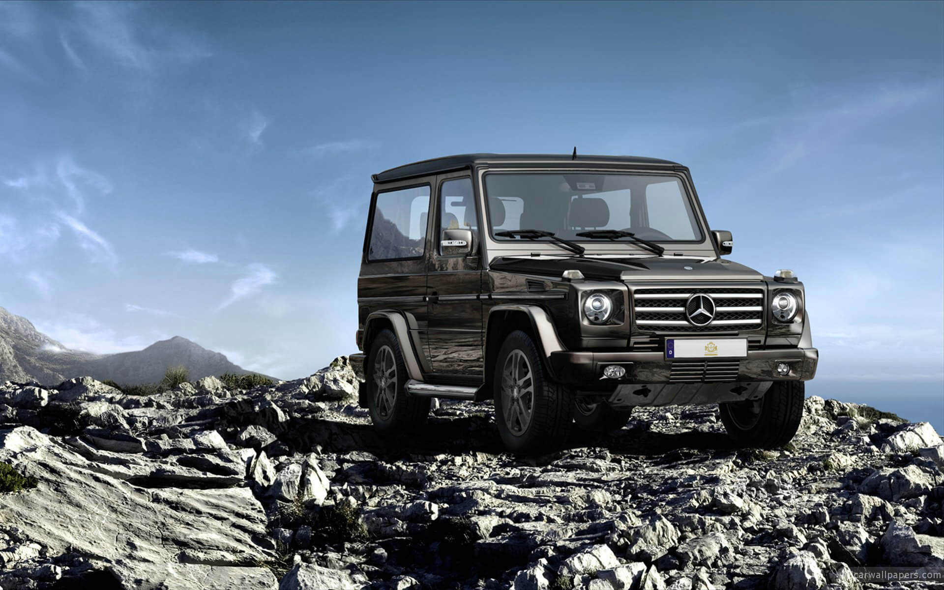 Mercedes G-Class Car Hire